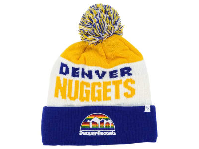 Denver Nuggets '47 NBA '47 Crossblock Cuff Knit