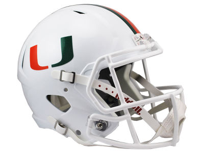 Miami Hurricanes Speed Replica Helmet