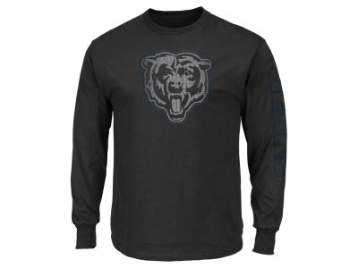 Chicago Bears NFL Men's Up and Over Longsleeve T-Shirt
