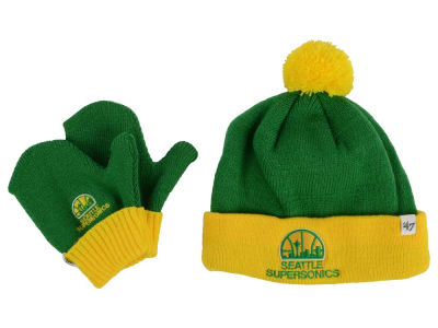 Seattle SuperSonics '47 NBA HWC Toddler '47 BAM BAM Knit Set