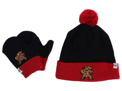 Maryland Terrapins '47 NCAA Toddler '47 BAM BAM Knit Set