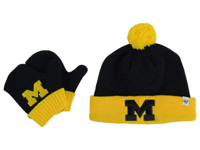 Michigan Wolverines '47 NCAA Toddler '47 BAM BAM Knit Set