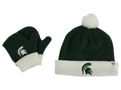 Michigan State Spartans '47 NCAA Toddler '47 BAM BAM Knit Set