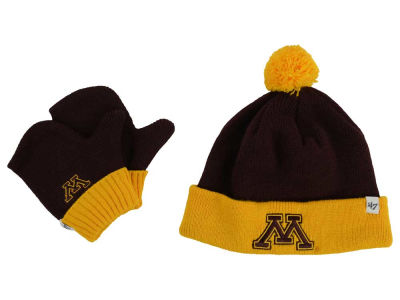 Minnesota Golden Gophers '47 NCAA Toddler '47 BAM BAM Knit Set