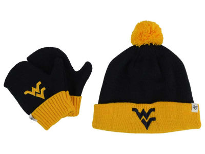 West Virginia Mountaineers '47 NCAA Toddler '47 BAM BAM Knit Set