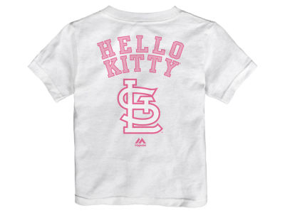 St. Louis Cardinals MLB Toddler Hello Kitty Proud T-Shirt