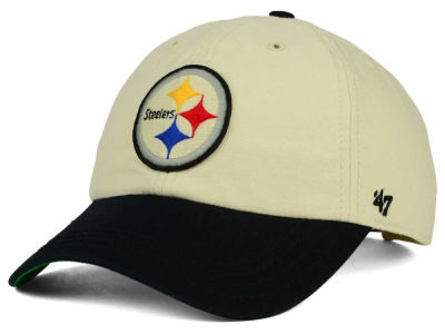 Pittsburgh Steelers '47 NFL Horseshoe '47 CLEAN UP Cap