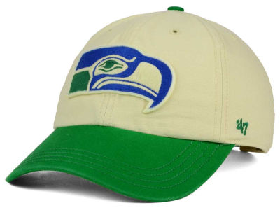 Seattle Seahawks '47 NFL Horseshoe '47 CLEAN UP Cap