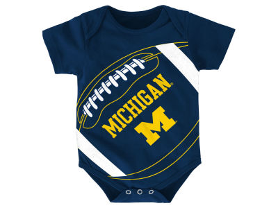 Michigan Wolverines NCAA Newborn Football Fanatic Creeper