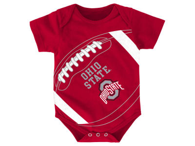 Ohio State Buckeyes Outerstuff NCAA Newborn Football Fanatic Creeper
