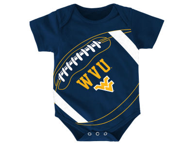 West Virginia Mountaineers NCAA Newborn Football Fanatic Creeper