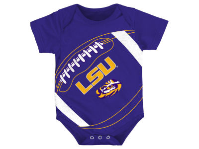 LSU Tigers Outerstuff NCAA Infant Football Fanatic Creeper