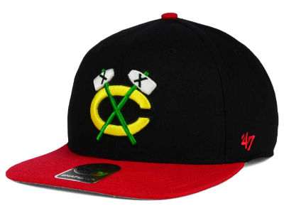 Chicago Blackhawks '47 NHL Sure Shot 2 Tone Snapback Cap