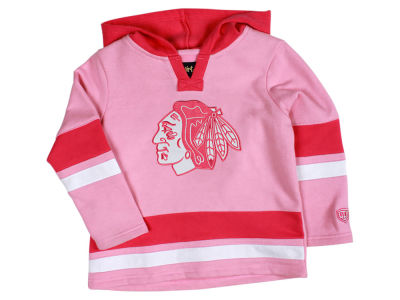 Chicago Blackhawks Old Time Hockey NHL Toddler Girls Shannon Hoodie