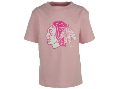 Chicago Blackhawks Old Time Hockey NHL Toddler Girls Lil Big T-Shirt 2015