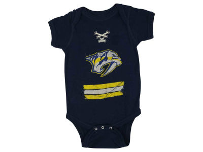 Nashville Predators NHL Infant Beeler Laces Creeper