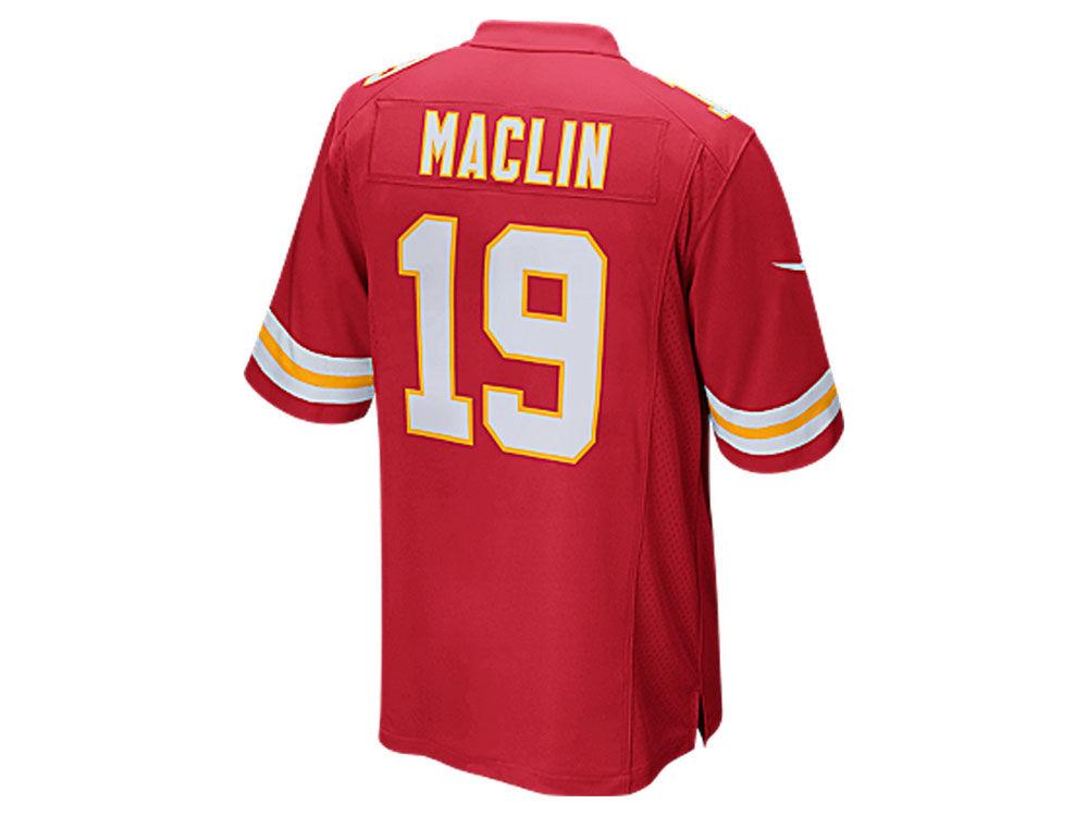 Kansas City Chiefs Jeremy Maclin Nike NFL Men s Game Jersey  9eee9251a