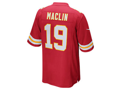 Kansas City Chiefs Jeremy Maclin Nike NFL Men's Game Jersey