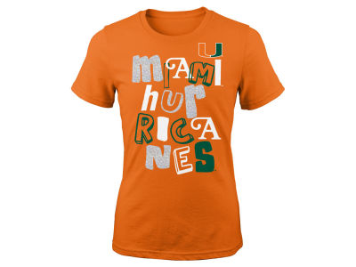Miami Hurricanes NCAA Youth Girls Marquise T-Shirt