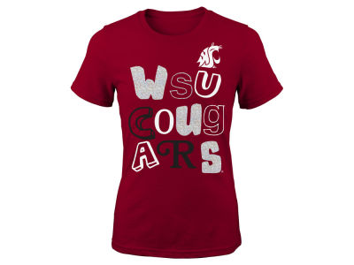 Washington State Cougars Outerstuff NCAA Youth Girls Marquise T-Shirt