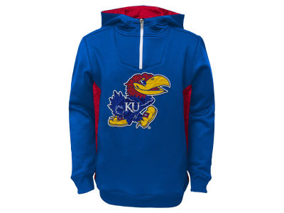 Kansas Jayhawks NCAA Youth Power Logo Hoodie