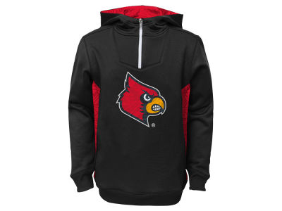Louisville Cardinals NCAA Youth Power Logo Hoodie