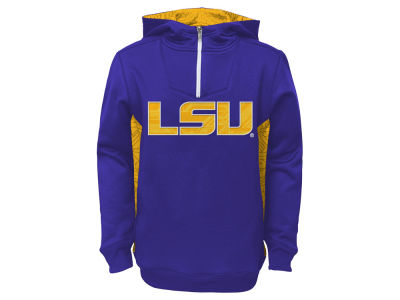 LSU Tigers NCAA Youth Power Logo Hoodie
