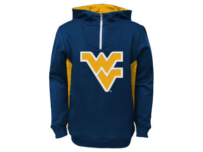 West Virginia Mountaineers NCAA Youth Power Logo Hoodie
