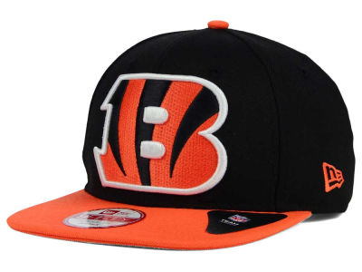 Cincinnati Bengals New Era NFL Wool Classic XL Logo 9FIFTY Snapback Cap