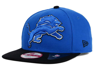 Detroit Lions New Era NFL Wool Classic XL Logo 9FIFTY Snapback Cap