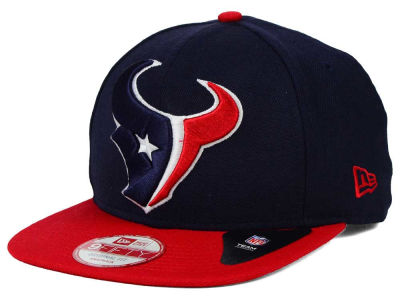 Houston Texans New Era NFL Wool Classic XL Logo 9FIFTY Snapback Cap