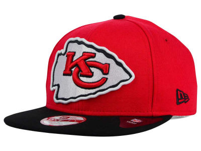 Kansas City Chiefs New Era NFL Wool Classic XL Logo 9FIFTY Snapback Cap