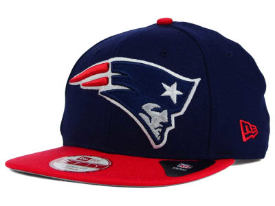 New England Patriots New Era NFL Wool Classic XL Logo 9FIFTY Snapback Cap