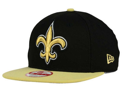 New Orleans Saints New Era NFL Wool Classic XL Logo 9FIFTY Snapback Cap