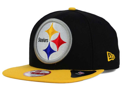 Pittsburgh Steelers New Era NFL Wool Classic XL Logo 9FIFTY Snapback Cap