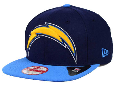 San Diego Chargers New Era NFL Wool Classic XL Logo 9FIFTY Snapback Cap