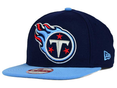 Tennessee Titans New Era NFL Wool Classic XL Logo 9FIFTY Snapback Cap