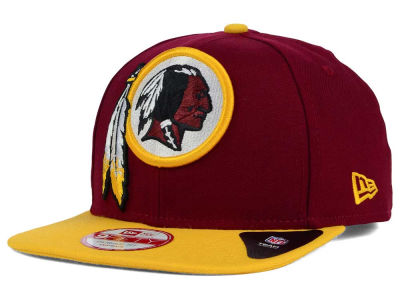 Washington Redskins New Era NFL Wool Classic XL Logo 9FIFTY Snapback Cap