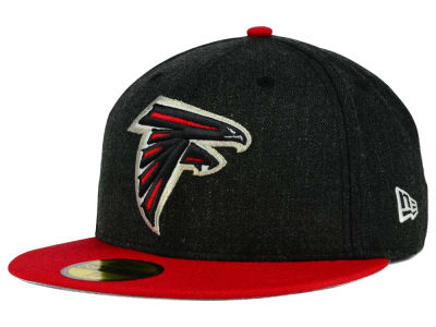 Atlanta Falcons New Era NFL Heather Action 2 Tone 59FIFTY Cap