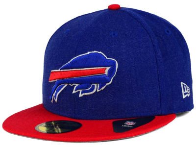 Buffalo Bills New Era NFL Heather Action 2 Tone 59FIFTY Cap