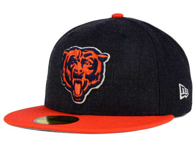 Chicago Bears New Era NFL Heather Action 2 Tone 59FIFTY Cap