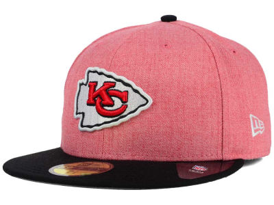 Kansas City Chiefs New Era NFL Heather Action 2 Tone 59FIFTY Cap