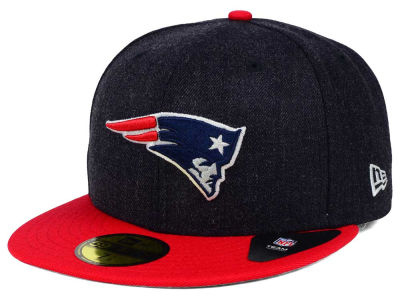 New England Patriots New Era NFL Heather Action 2 Tone 59FIFTY Cap