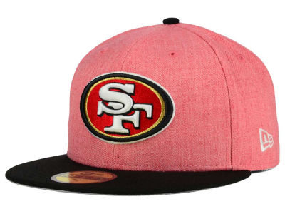 San Francisco 49ers New Era NFL Heather Action 2 Tone 59FIFTY Cap