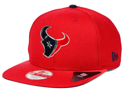 Houston Texans New Era 2015 NFL Draft Redux 9FIFTY Original Fit Snapback Cap