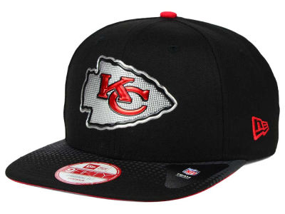 Kansas City Chiefs New Era 2015 NFL Draft Redux 9FIFTY Original Fit Snapback Cap
