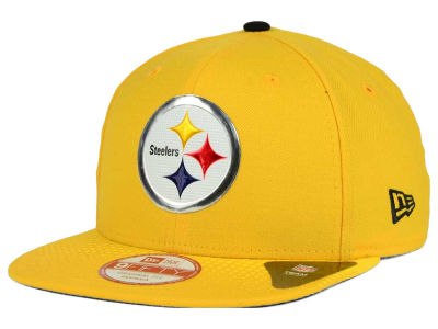 Pittsburgh Steelers New Era 2015 NFL Draft Redux 9FIFTY Original Fit Snapback Cap