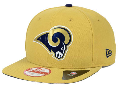 St. Louis Rams New Era 2015 NFL Draft Redux 9FIFTY Original Fit Snapback Cap