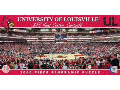 Louisville Cardinals Panoramic Stadium Puzzle