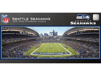 Seattle Seahawks Panoramic Stadium Puzzle